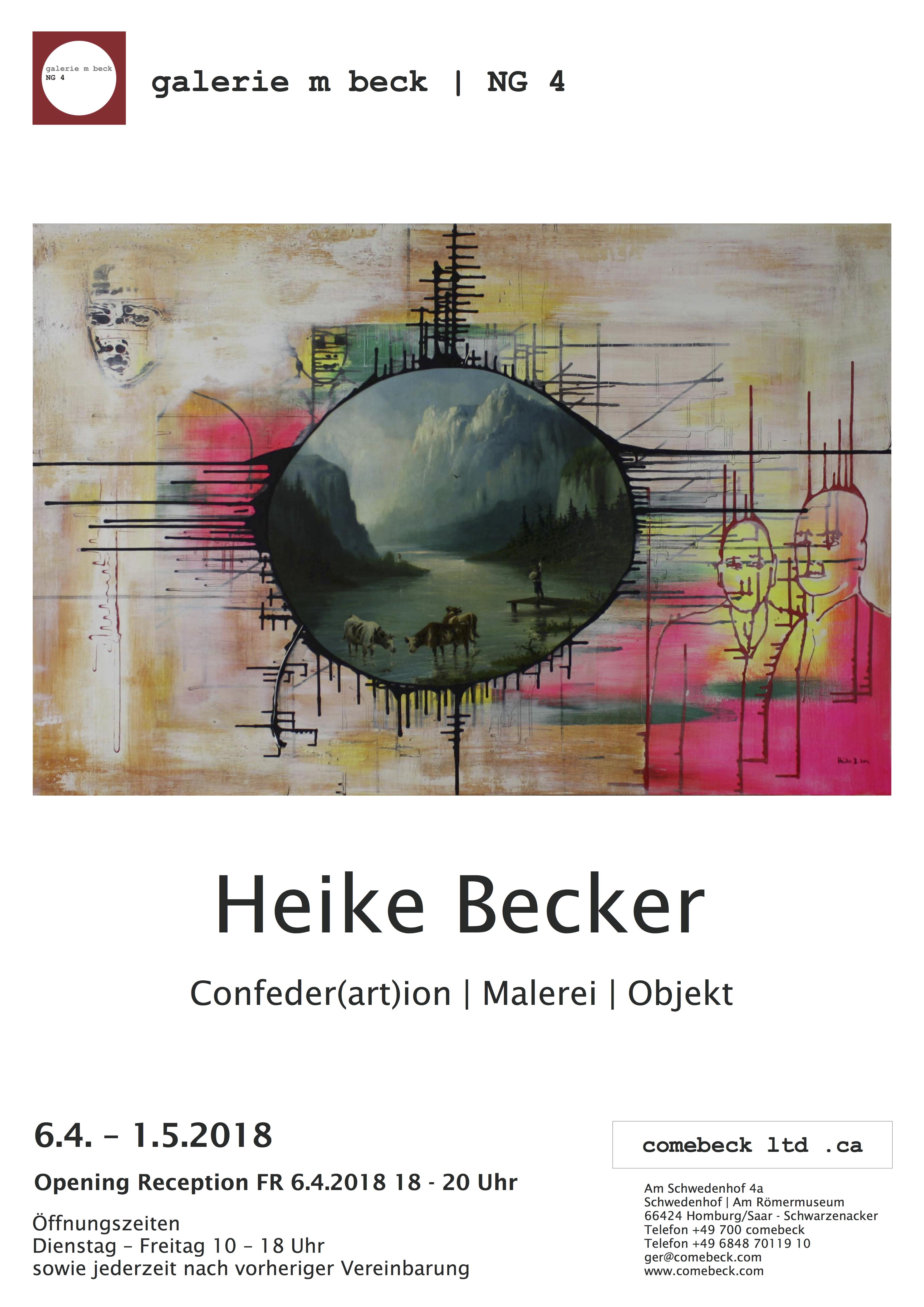 2018 04 fine art Ausstellungsplakat Einladung_Becker